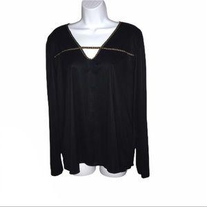 Torrid 4x Velvet Long sleeve top